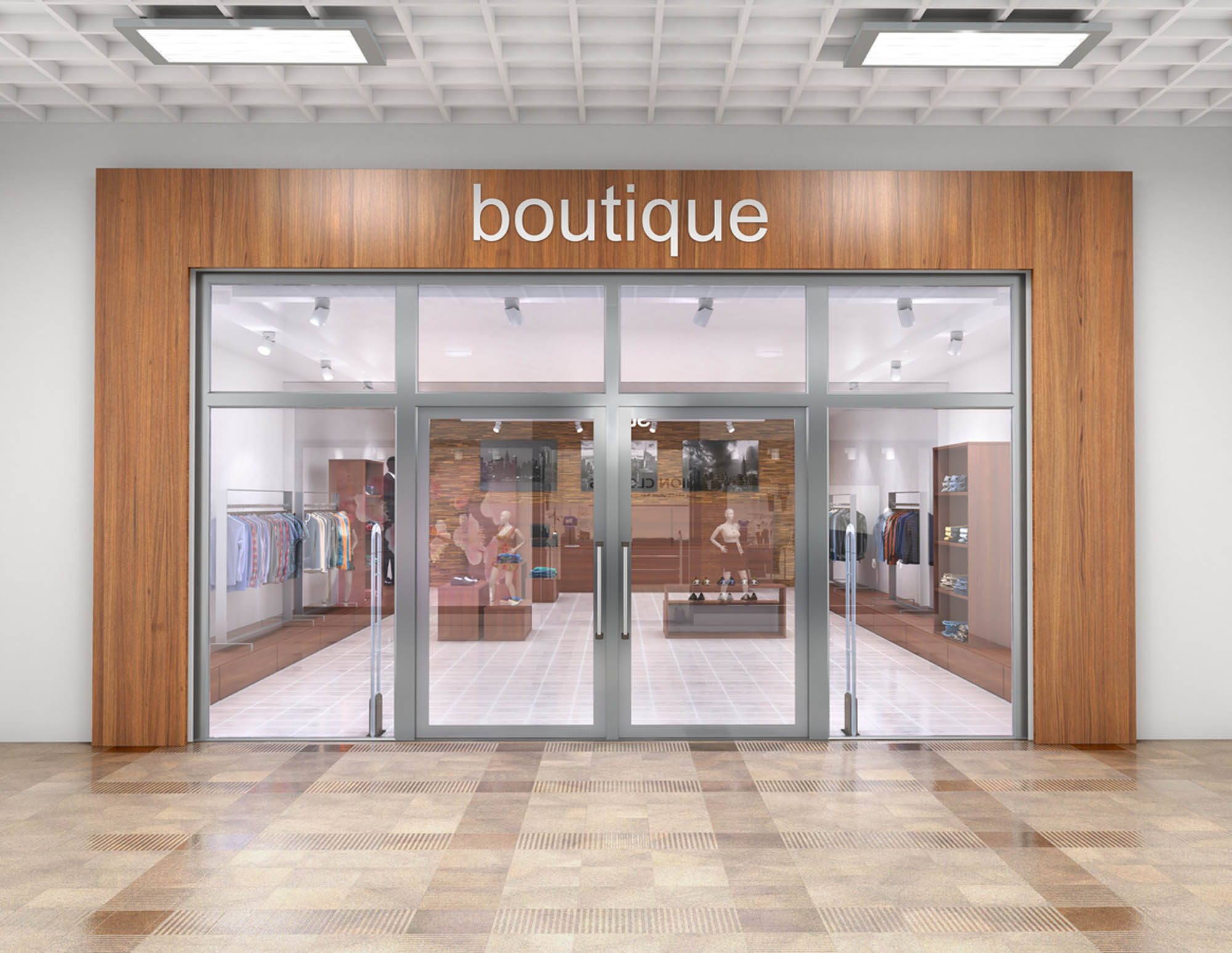 Empty Boutique for Lease