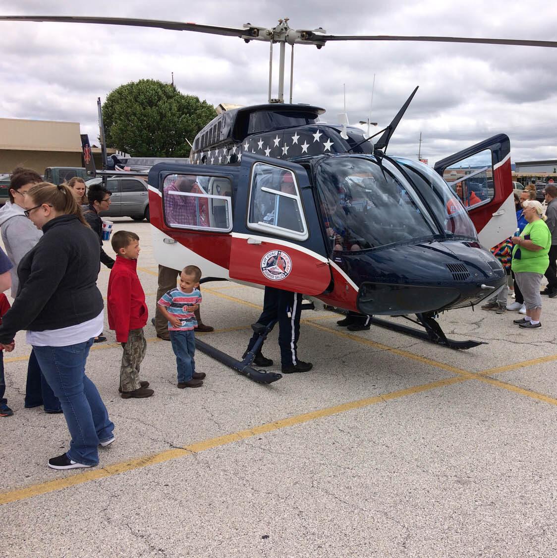 Quincy Town Center EMS Community Awareness Event